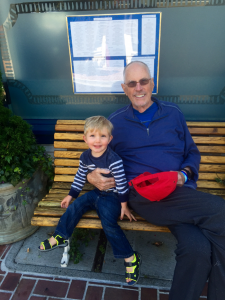 michael and grandson
