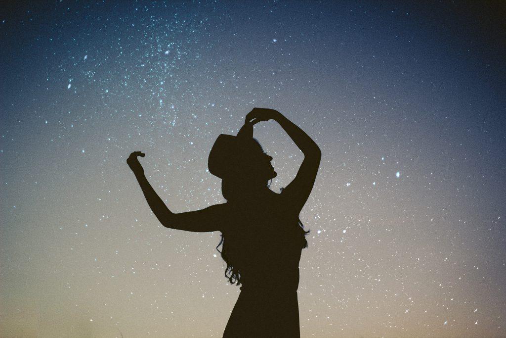 dancing with joy